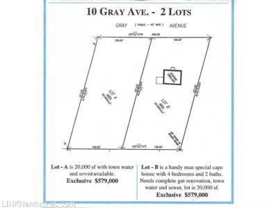 10 Gray Avenue ( A&B ), Mid Island | BA:  0.0 | BR: 0 | $579000 (1)
