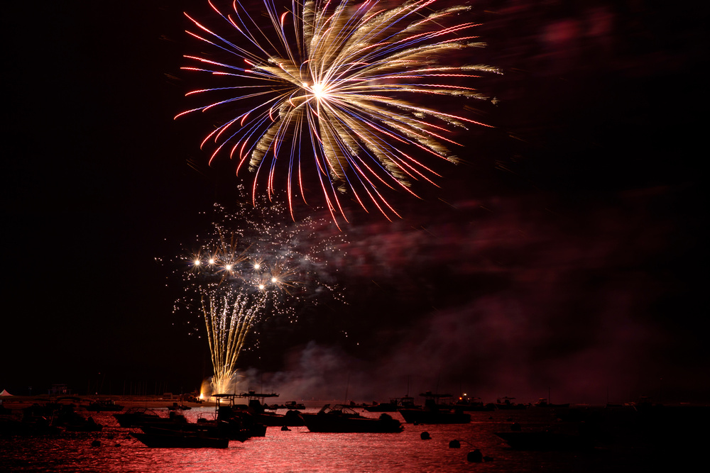 Nantucket Fourth of July Fireworks