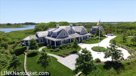 10 Medouie Creek Road, Nantucket, MA | BA:  6.2 | BR: 6 | $8495000 (1)