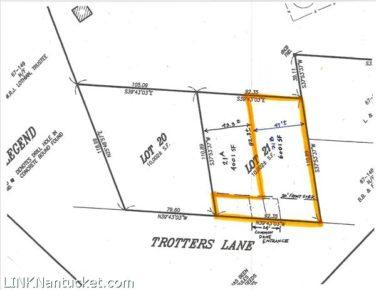 24 Trotters Lane (Market) Lot 21B, Nantucket, MA | BA:  . | BR:  | $465000 (1)