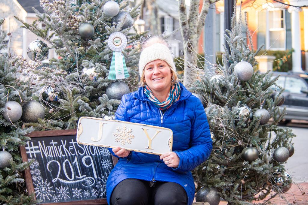 Distinctively Nantucket: Jessie Brescher & Inky Santa img